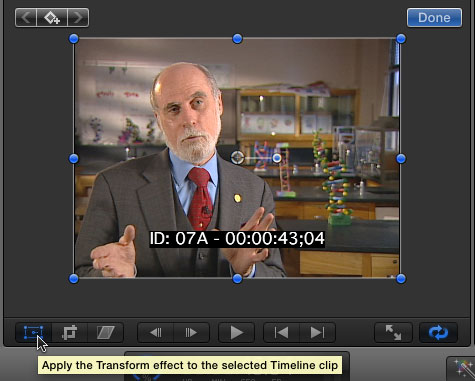 FCP X: Adding Timecode to Clips   Larry Jordan