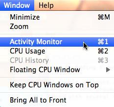 Using the Activity Monitor | Larry Jordan