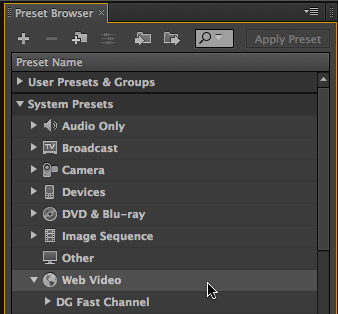 adobe media encoder how to change frame rate