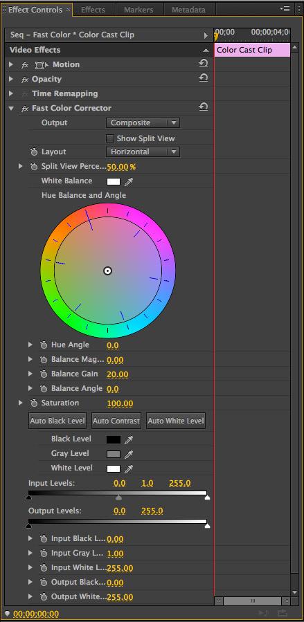 Premiere Pro Cs6 Fast Color Correction Larry Jordan
