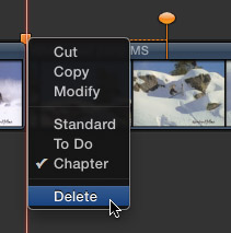 Change Chapter Markers in Final Cut Pro X 10.0.6