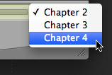 Chapter Markers in Quicktime 7 (QT 7)