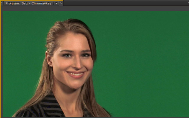 Replace green background with Ultra key in Premiere Pro