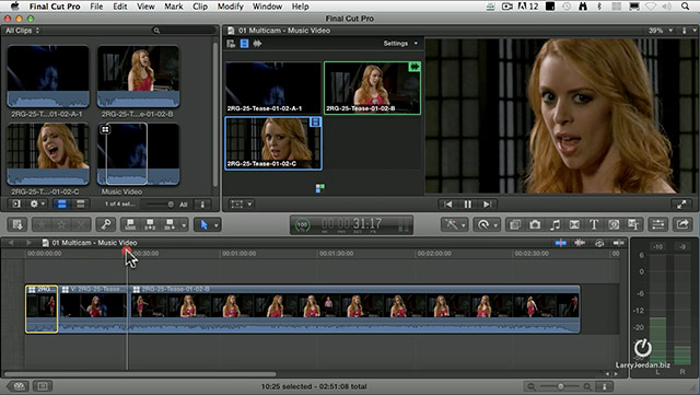 Fcp X: Create Multicam Montages [Video] | Larry Jordan