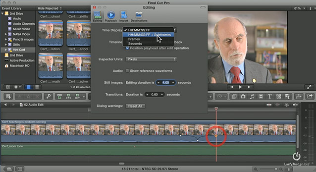 FCP X: Sub-frame Audio Editing [Video] | Larry Jordan