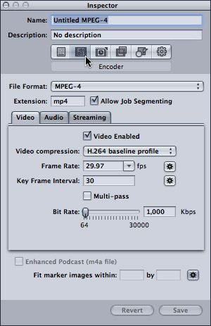Compressor 4: Compress Video for Web   Larry Jordan