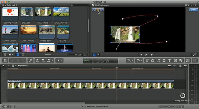 FCP X: Create A Motion Path (Video)