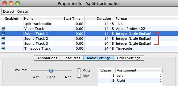 FCP X: Export Multi-channel Audio | Larry Jordan