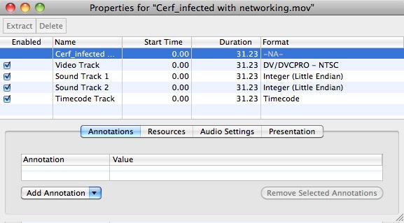QuickTime 7: Edit Multitrack Audio | Larry Jordan