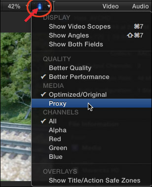 FCP X: When to Use Optimized, Proxy, or Native Media | Larry