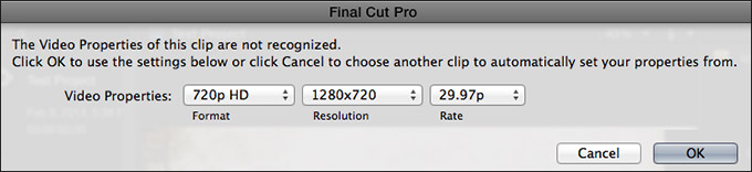FCP X v 10 1: Change Project Settings | Larry Jordan