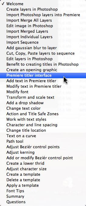 121: Create Better Titles In Premiere Pro CC
