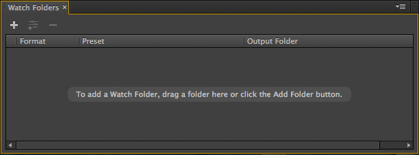 Adobe Media Encoder: Watch Folders   Larry Jordan
