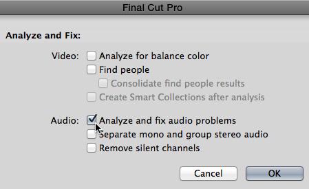 FCP X: Remove Audio Hum | Larry Jordan