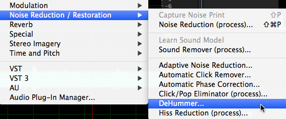 Adobe Audition: Remove Hum | Larry Jordan