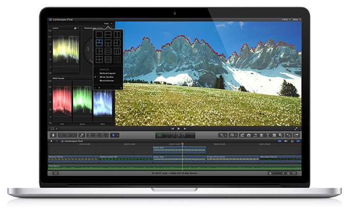how to blur a section in final cut pro
