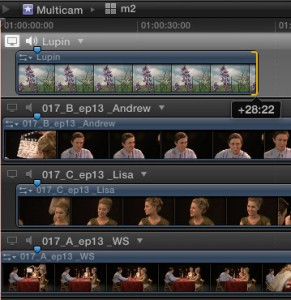 Clips Being Demonstrated In Final Cut Pro Training