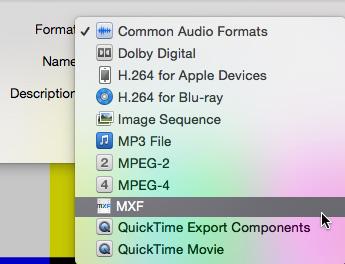 Apple Compressor: Create MXF OP1a Media | Larry Jordan