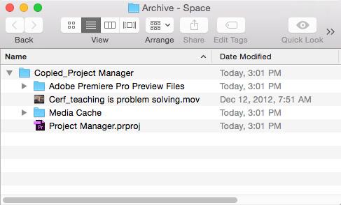 Premiere Pro CC: Understand Project Manager | Larry Jordan