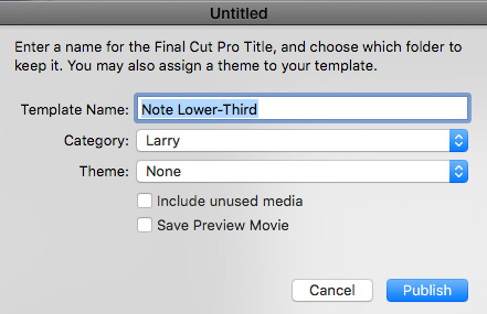 This Opens The Template Dialog If You Dont See Its Because Didnt Choose Motion Title When First Created Project