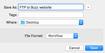 FTP Automatically From Apple Compressor to the Web | Larry