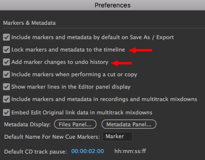 Adobe Audition CC: Using Markers [u] | Larry Jordan