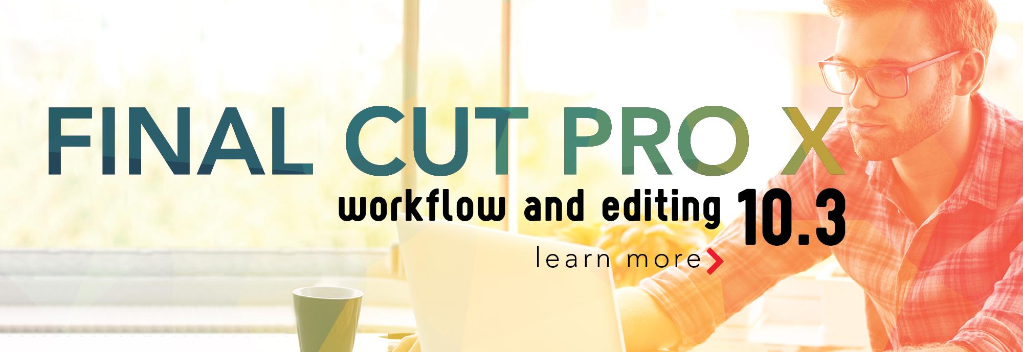 Final Cut Pro 10.3