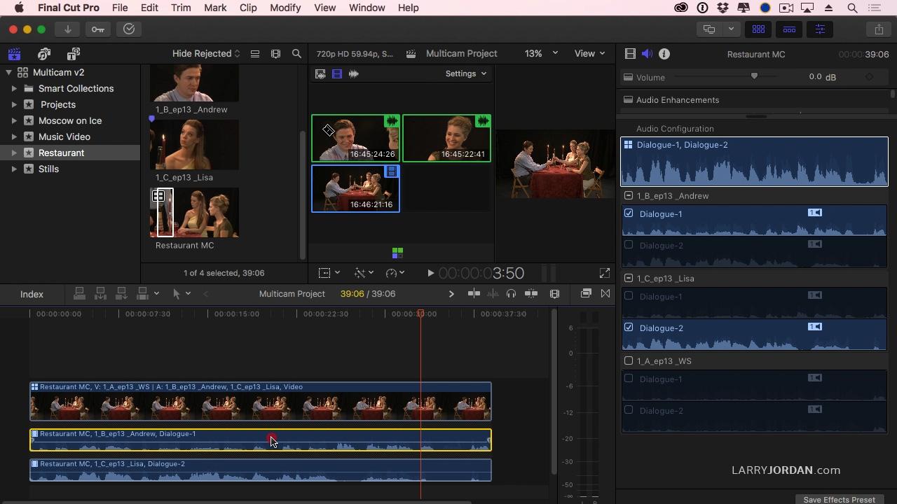basic video editing final cut pro