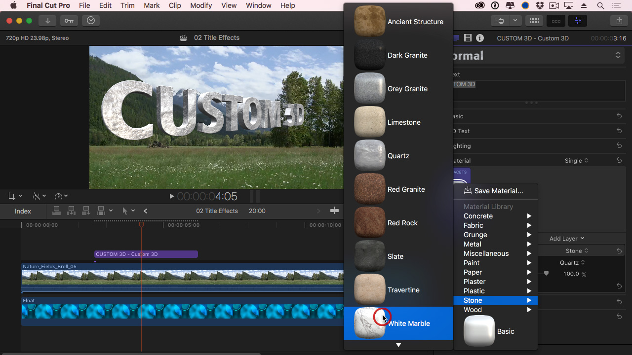 225: Create Simple Effects in Final Cut Pro X