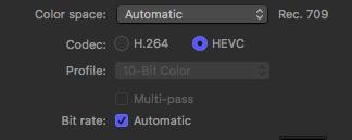First Look: HEVC vs  H 264 in Apple Compressor 4 4 | Larry
