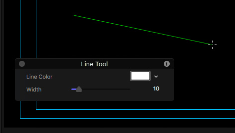 Drawing Lines In Final Cut Pro : Create curved and dashed lines in motion larry jordan
