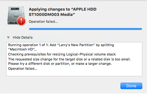 Create a Dual Boot System Disk in macOS High Sierra [u] | Larry Jordan
