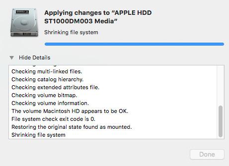 Create a Dual Boot System Disk in macOS High Sierra [u
