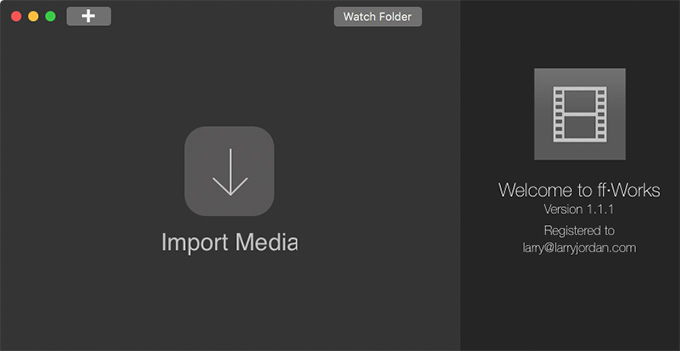 Product Review: Better Video Compression with ff-Works | Larry Jordan
