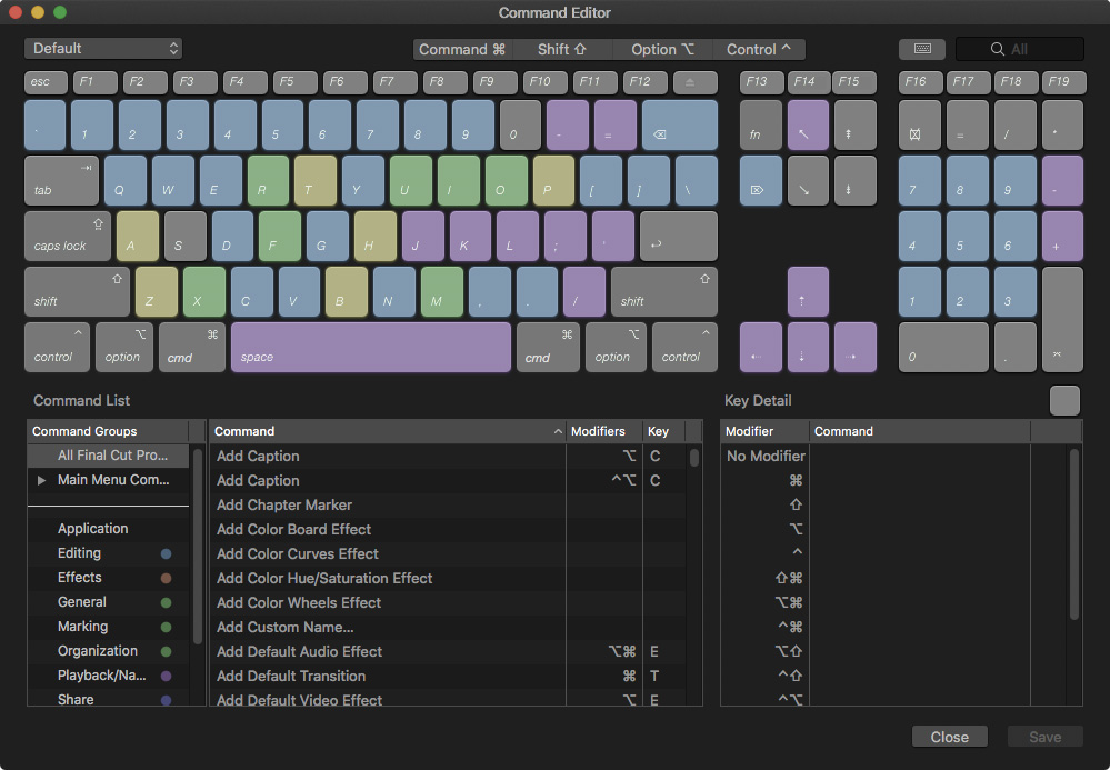 Create Custom Keyboard Shortcuts for Final Cut Pro X | Larry