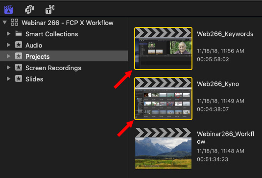 Final Cut Pro X 10 4 4: Batch Export | Larry Jordan