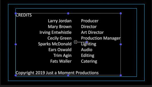 Final Cut Pro X: Create Scrolling Credits | Larry Jordan