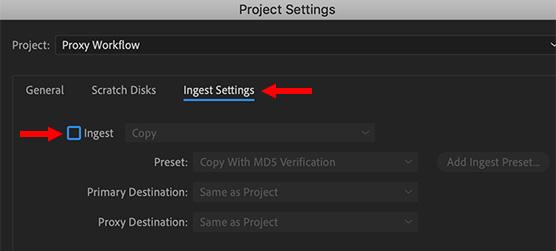Adobe Premiere Pro CC: Create an Automatic Proxy Workflow